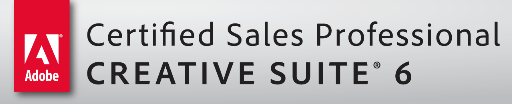 Adobe Certified Sales Professional Creative Suite 6 - Logo