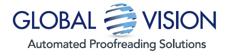 Global Vision Inc. - Automated Proofreading Solutions - Logo