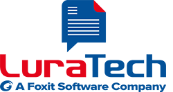 LuraTech - a Foxit Software Company - Logo