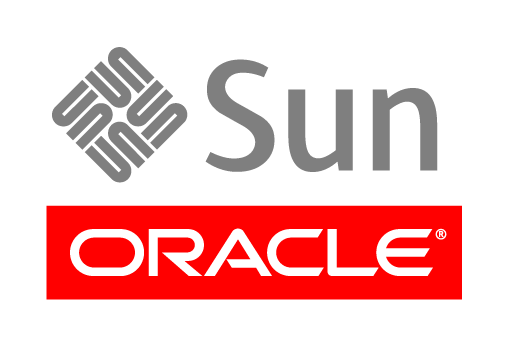 Oracle with Sun on top logo