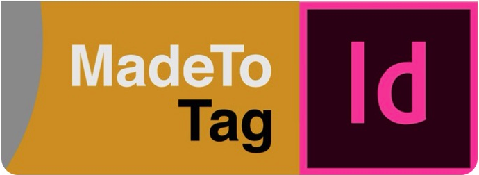axaio MadeToTag and Adobe InDesign - Banner