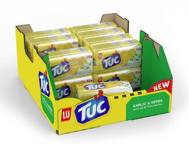 iC3D - Tuc Biscuits Multi-Pack Retail Ready Box - Picture