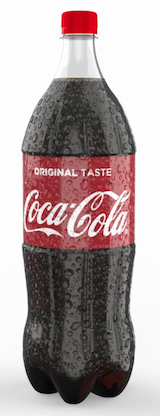 iC3D Spritzing - Food - Coke Spritzed Bottle - Picture