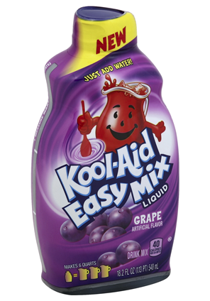 iC3D Opsis Model - KoolAid Easy Mix Liquid Grape Bottle - Picture