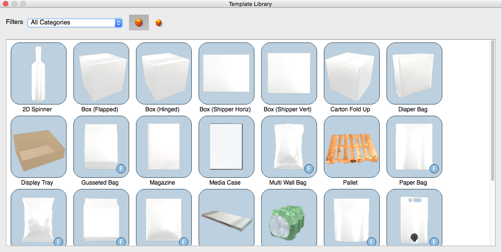 Creative Edge Software - iC3D Template Library - Picture