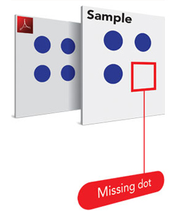 BrailleProof - Missing Dot - Bild