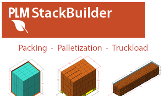 treeDiM PMLStackBuilder - Packaging, Palletization, Truckload - Picture