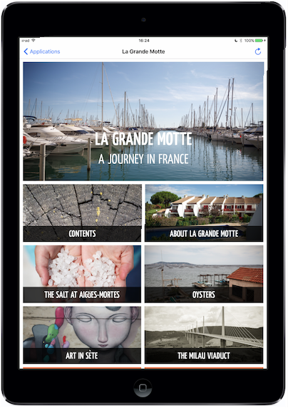Twixl media - Twixl Distribution Platform - Browse Pages - Tablet App, La Grand Motte - Bild