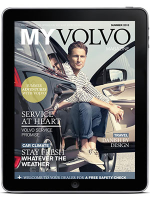 Twixl Publisher - Volvo My Magazine for iPad App - Picture